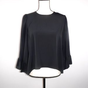 WORN TWICE - Zara Black Blouse